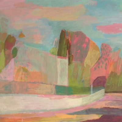 4.rue des heliotropes , 2016, acrylique syr toile, 50x61cm - Copia
